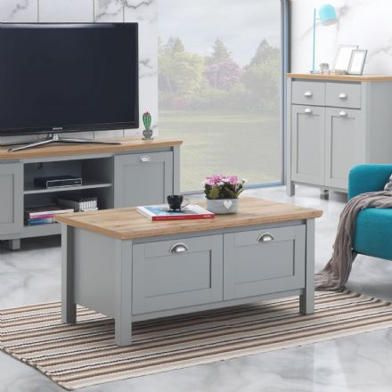 The Eaton Coffee Table with 4 Doors
